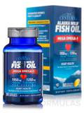 Alaska Wild® Fish Oil with Mega Omega-3 - 90 Enteric-Coated Softgels