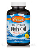 Fish Oil Lemon Flavor 120 Soft Gels