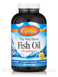 Fish Oil Lemon Flavor - 240 Soft Gels