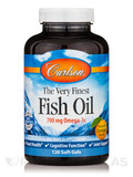 Fish Oil Orange Flavor 1000 mg 120 Soft Gels