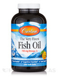 Fish Oil Orange Taste 240 Soft Gels