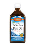 The Very Finest Fish Oil 1600 mg, Natural Orange Flavor - 16.9 fl. oz (500 ml)