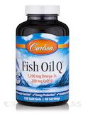 Fish Oil Q (CoEnzyme Q10 100 mg) - 120 Soft Gels