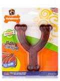 Flavor Frenzy Flexi Chew Wishbone (Wolf Dogs, Up To 35 Lbs / 16 Kg), Filet Mignon Flavor - 1 Count
