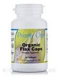 Organic Flax Caps 90 Softgels