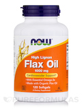 Flax Oil 1000 mg 120 Softgels