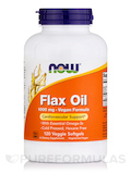 Flax Oil 1000 mg - 120 Veggie Softgels