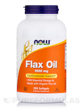 Flax Oil 1000 mg 250 Softgels