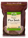 NOW Real Food® - Flax Seed - 32 oz (907 Grams)