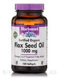 Flax Seed Oil 1000 mg - 100 Softgels