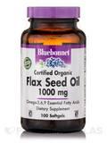 Flax Seed Oil 1000 mg - 100 Softgels