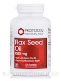 Flax Seed Oil 1000 mg - 120 Softgels