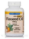 Flaxseed Oil 1000mg 90 Softgels