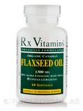 Flaxseed Oil 1300 mg 60 Softgels