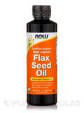 Flax Seed Oil (High Lignan) - 12 fl. oz (355 ml)