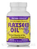 Flaxseed Oil 1000 mg 100 Softgels