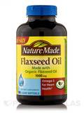 Flaxseed Oil 1000 mg 180 Softgels