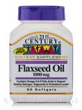 Flaxseed Oil 1000 mg 60 Softgels