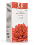 Flowercolor - Foundation Skin Treatment, Natural - 1 fl. oz (30 ml)