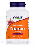 Flush-Free Niacin 250 mg 180 Vegetarian Capsules