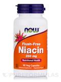 Flush-Free Niacin 250 mg - 90 Vegetarian Capsules