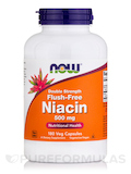 Flush-Free Niacin 500 mg - 180 Vegetarian Capsules