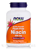 Flush-Free Niacin 500 mg - 90 Vegetarian Capsules
