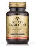 Folate 666 mcg DFE (Metafolin® 400 mcg) - 100 Tablets