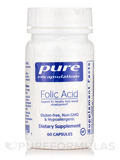 Folic Acid - 60 Capsules