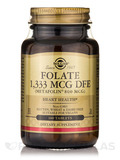 Folate 1,333 mcg DFE (Metafolin® 800 mcg) - 100 Tablets