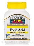Folic Acid 400 mcg 250 Tablets