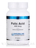Folic Acid 400 mcg - 90 Tablets