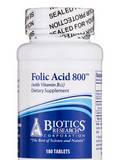 Folic Acid 800 with B12 - 180 Tablets