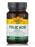 Folic Acid 800 mcg 100 Tablets