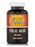 Folic Acid 800 mcg 1000 Tablets