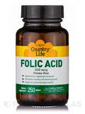 Folic Acid 800 mcg - 250 Tablets