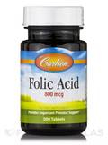 Folic Acid 800 mcg - 300 Tablets