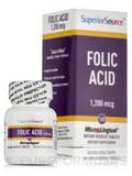 Folic Acid Extra Strength/Folic Acid - 100 MicroLingual® Tablets