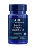 BioActive Folate & Vitamin B12 - 90 Vegetarian Capsules