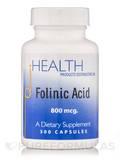 Folinic Acid 800 mcg - 300 Capsules