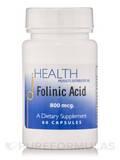 Folinic Acid 800 mcg - 60 Capsules