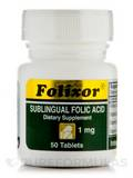 Folixor Sublingual Folic Acid 1 mg - 50 Tablets