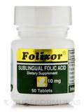 Folixor Sublingual Folic Acid 10 mg - 50 Tablets