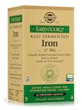 Earth Source® Food Fermented Koji Iron 27 mg - 30 Vegetable Capsules