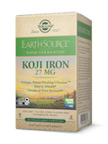 Earth Source® Food Fermented Koji Iron 27 mg - 60 Vegetable Capsules