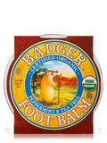 Foot Balm, Peppermint & Tea Tree - 2 oz (56 Grams)