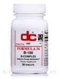 Formula 34 B-100 - 30 Tablets