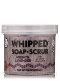 French Lavender Whipped Soap + Scrub - 10 oz (283.5 Grams)