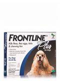 Frontline® Plus for Dogs (23-44 lbs) 3 Applicators