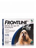 Frontline® Plus for Dogs (23-44 lbs) 6 Applicators